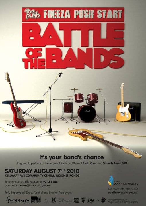 Battle of the Bands Poster 2010