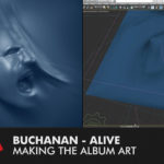 "Making-of Video Buchanan's ""Alive"" album cover"